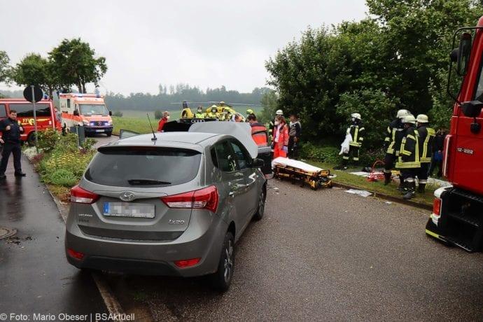 Unfall Unterrohr Ortseingang 10062020 14