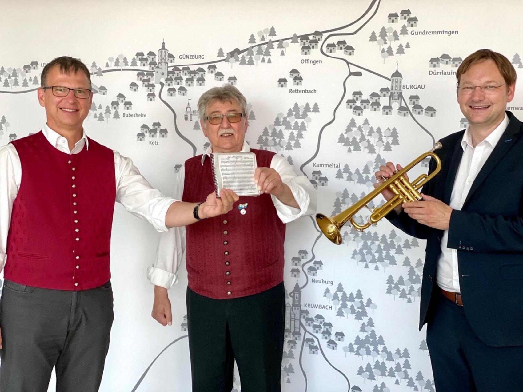 Blasmusik-Erwachen im Landkreis Guenzburg