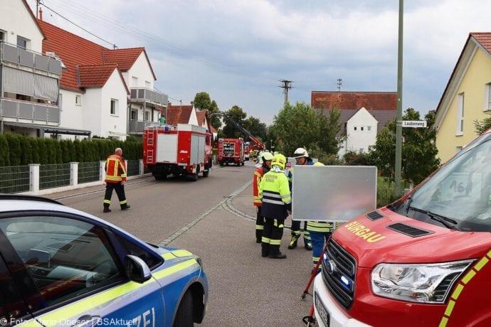 Brand Jettingen Dachstuhl Krankenhausstrasse 21072020 1