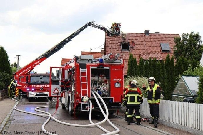 Brand Jettingen Dachstuhl Krankenhausstrasse 21072020 11