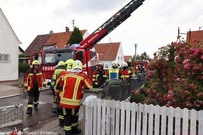 Brand Jettingen Dachstuhl Krankenhausstrasse 21072020 18