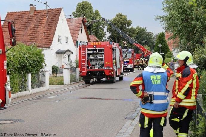 Brand Jettingen Dachstuhl Krankenhausstrasse 21072020 2