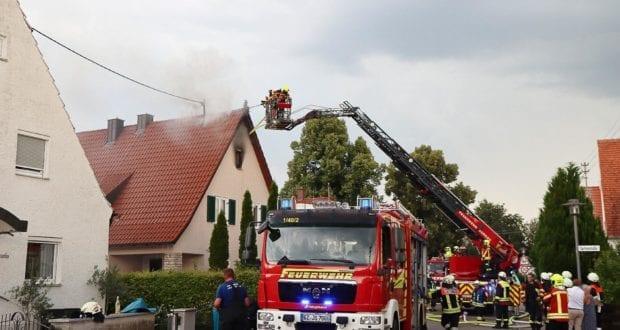 Brand Jettingen Dachstuhl Krankenhausstrasse 21072020 25
