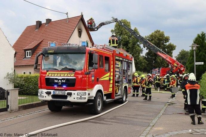 Brand Jettingen Dachstuhl Krankenhausstrasse 21072020 4