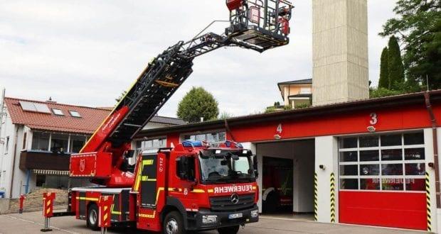 Drehleiter Feuerwehr Leipheim DLAK 2020 16-1
