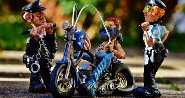 Kontrolle Motorrad Motorradkontrolle