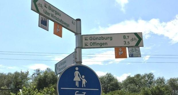 Neu beschilderte Storchennest-Radrundtour in Rettenbach am Silbersee