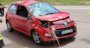 Unfall A8 Burgau-Zusmarshausen 02072020 1