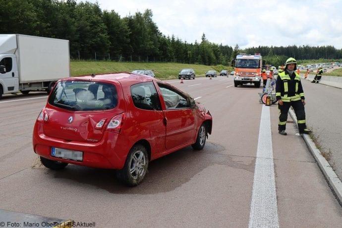 Unfall A8 Burgau-Zusmarshausen 02072020 3