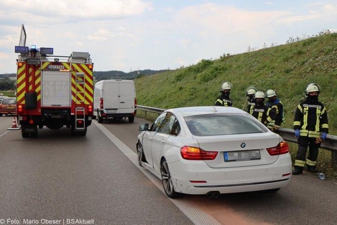 Unfall A8 Leipheim – Guenzburg 28072020 4