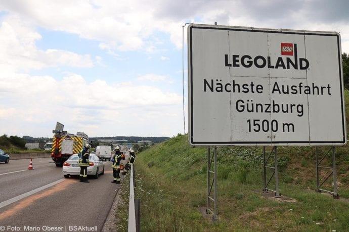 Unfall A8 Leipheim – Guenzburg 28072020 5
