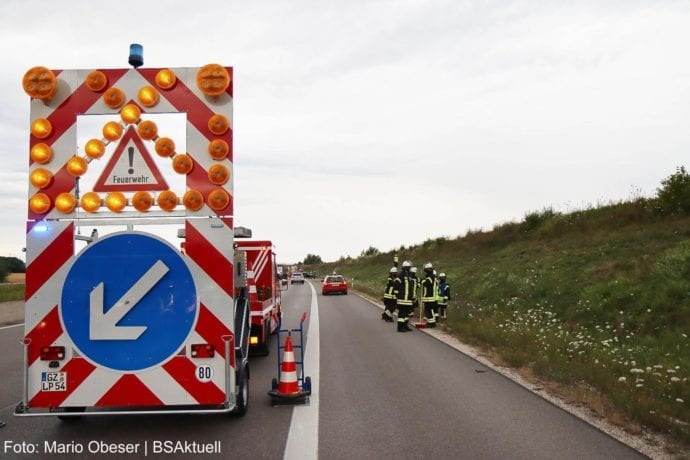 Unfall A8 Leipheim-Kreuz Ulm-Elchingen 26072020 10