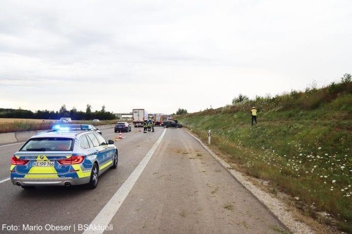 Unfall A8 Leipheim-Kreuz Ulm-Elchingen 26072020 11