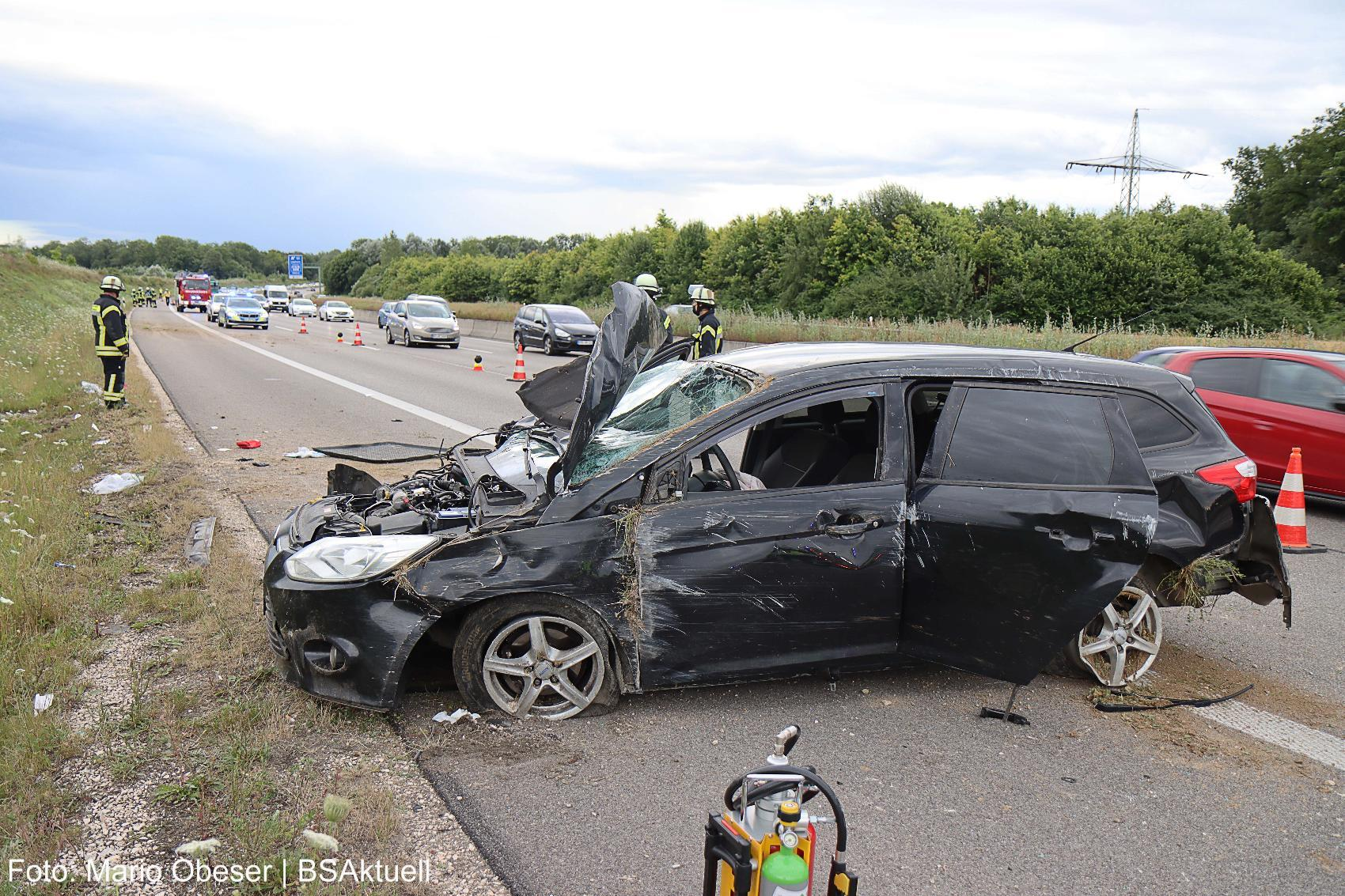 Unfall A8 Leipheim-Kreuz Ulm-Elchingen 26072020 16