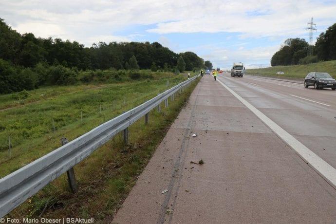 Unfall A8 Polizeifahrzeug Guenzburg Burgau 02072020 6