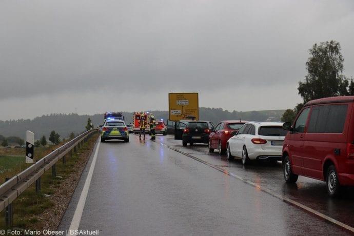 Unfall ST2025 Jettingen-Scheppach Roefingen Auffahrunfall 16072020 5