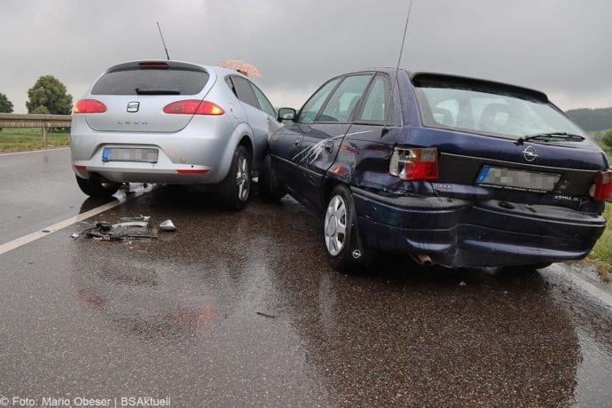 Unfall ST2025 Jettingen-Scheppach Roefingen Auffahrunfall 16072020 6