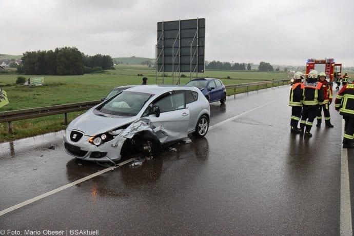 Unfall ST2025 Jettingen-Scheppach Roefingen Auffahrunfall 16072020 7