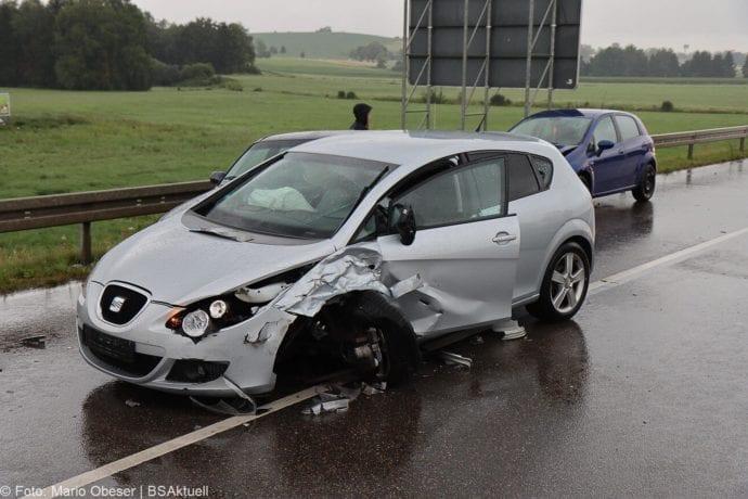 Unfall ST2025 Jettingen-Scheppach Roefingen Auffahrunfall 16072020 8