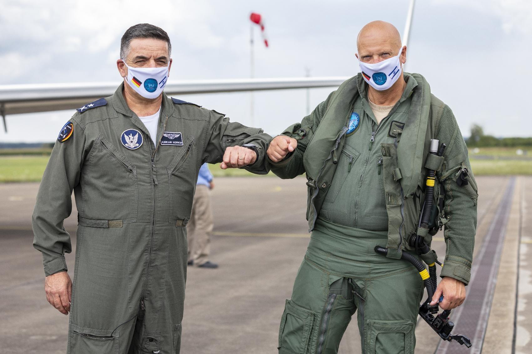 Blue Wings 2020 Israeli Air Force – deutsche Luftwaffe (2)