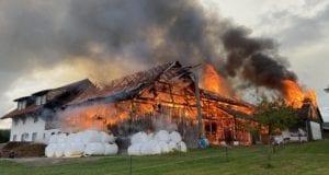 Brand in Opfenbach fordert 500000 Euro Schaden