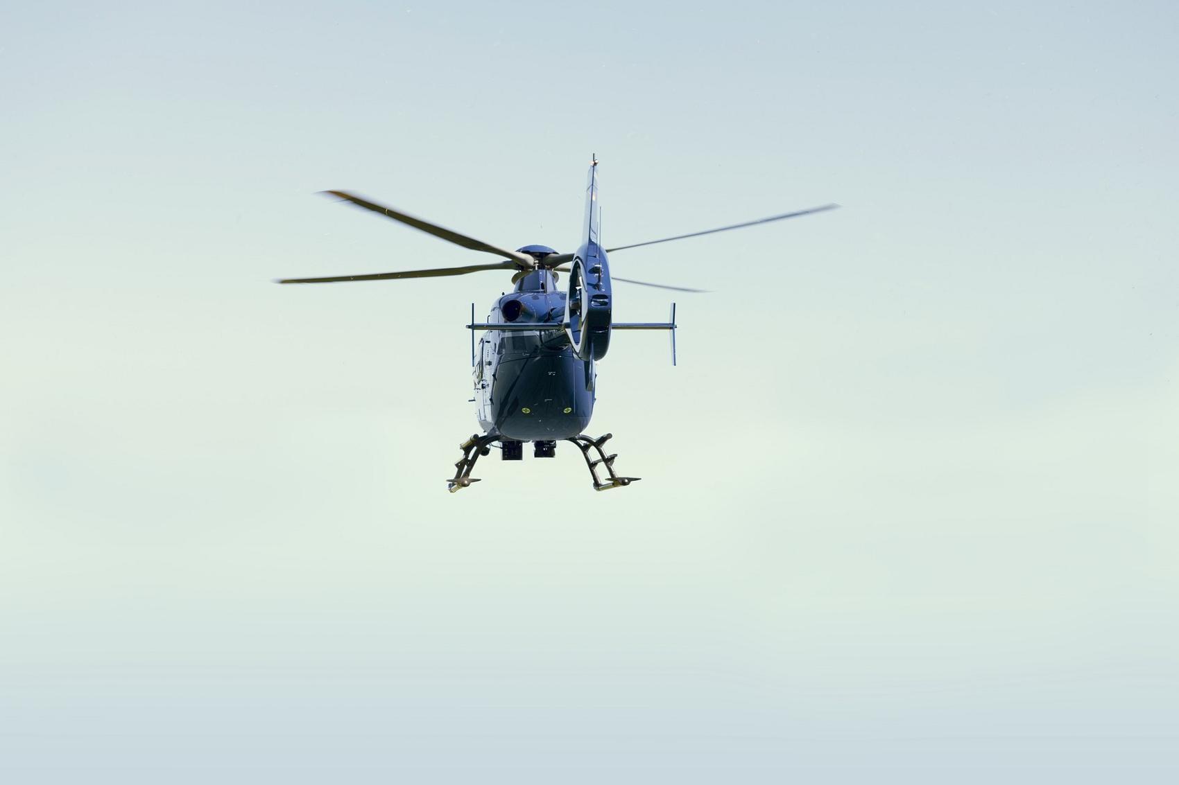 Hubschrauber Polizeihubschrauber