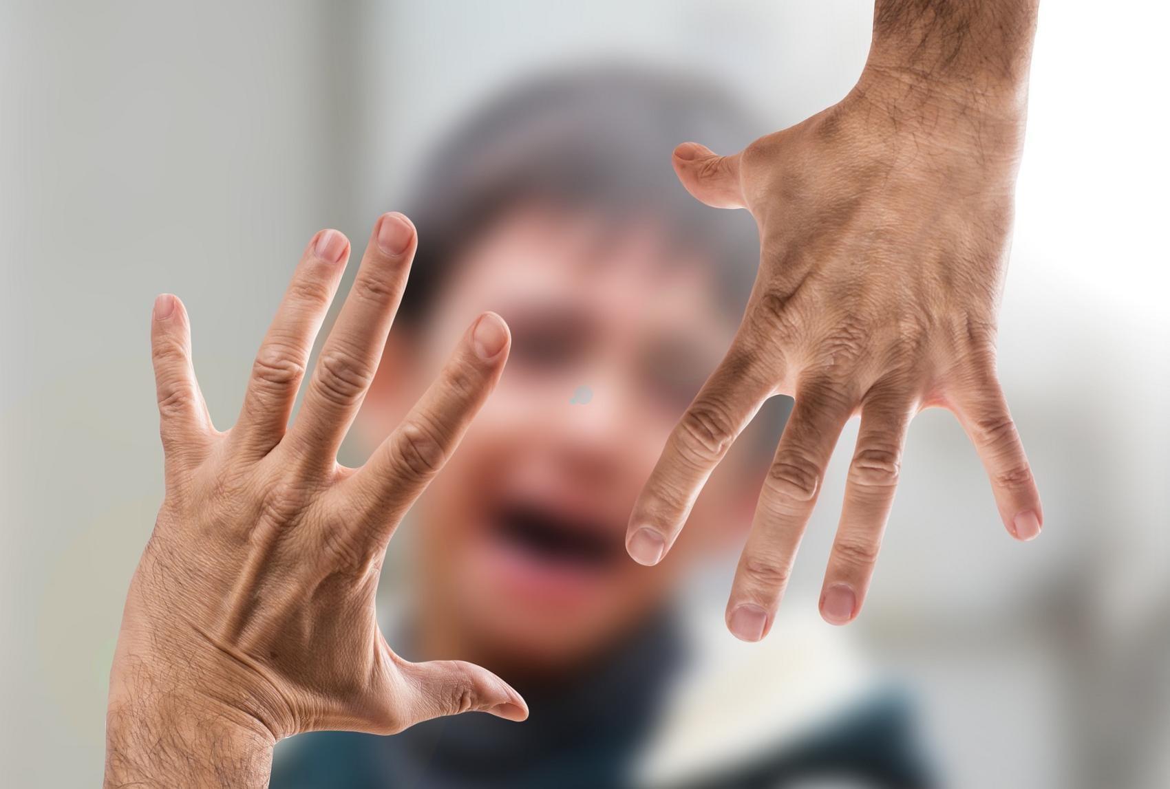 Kind Gewalt Weinen Angst