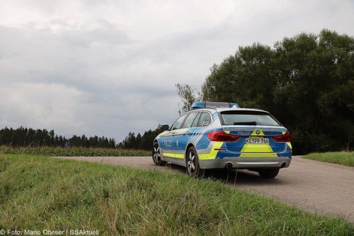 Personen fluechten Polizeikontrolle A8 Limbach 31082020 2