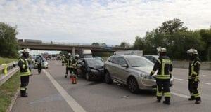 Unfall A8 Anschlussstelle Leipheim 27082020 3
