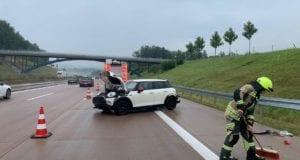 Unfall A8 Burgau 13082020 2