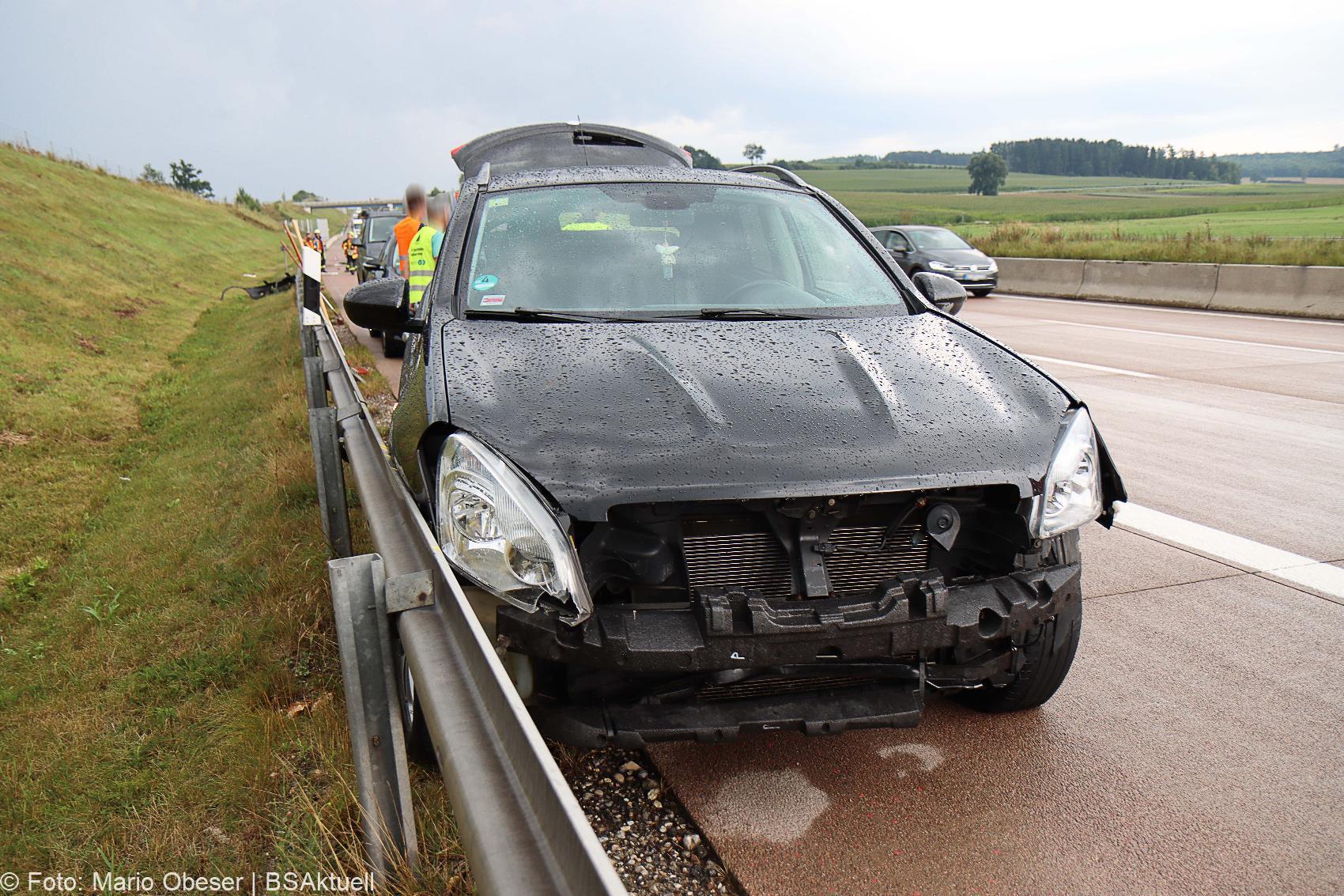 Unfall A8 Burgau Guenzburg Grossanhausen 14082020 9