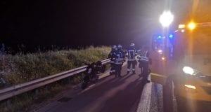 Unfall A8 Moped Leipheim 08082020 1