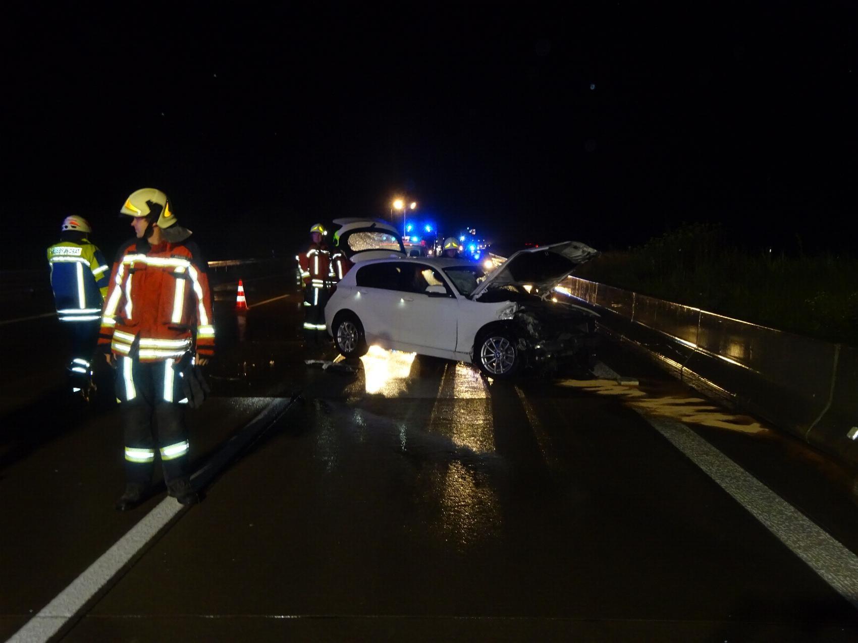 Unfall A8 Zusmarshausen 03082020 2