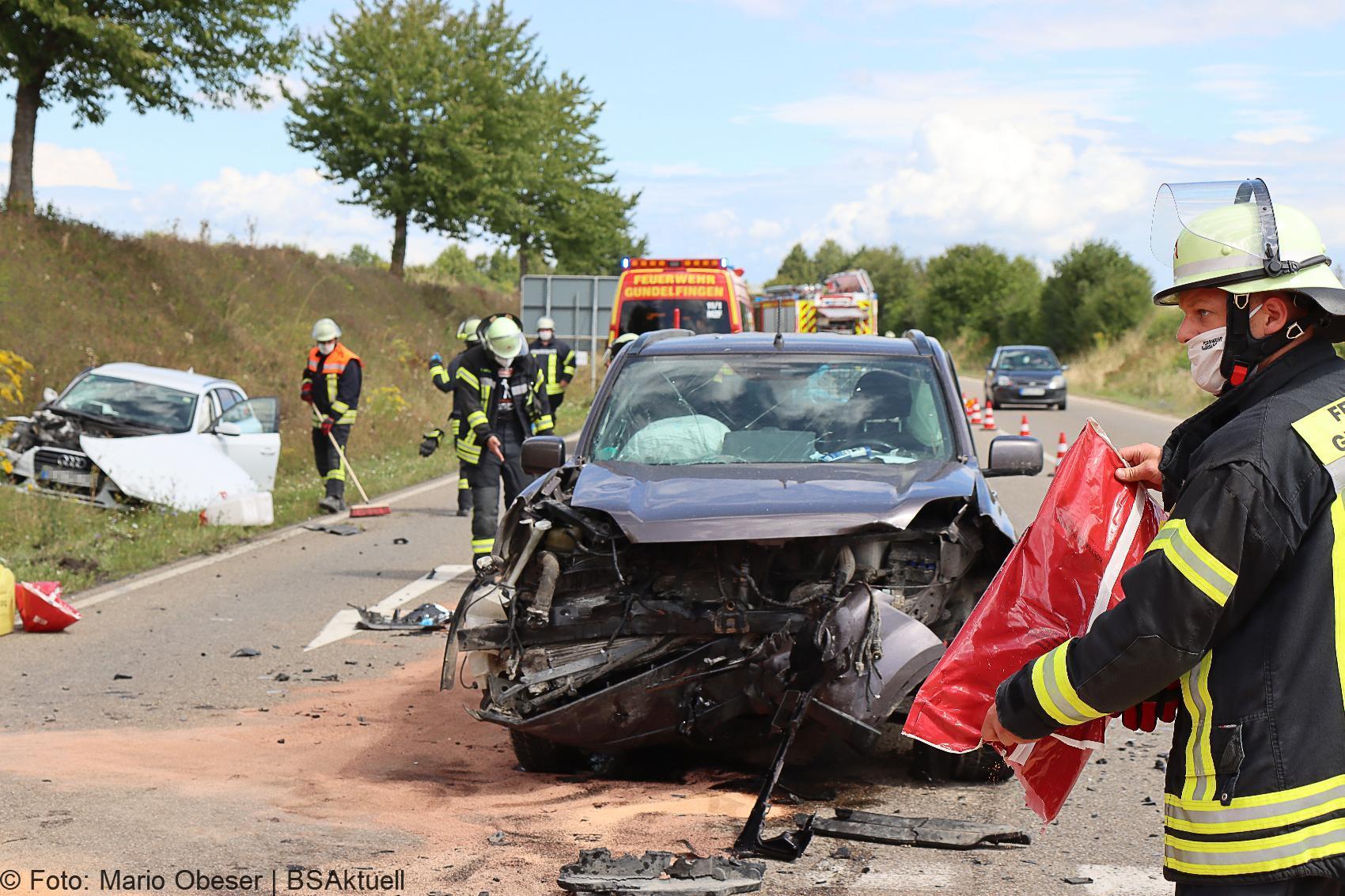 Unfall B16 Lauingen Dillingen 23082020 4