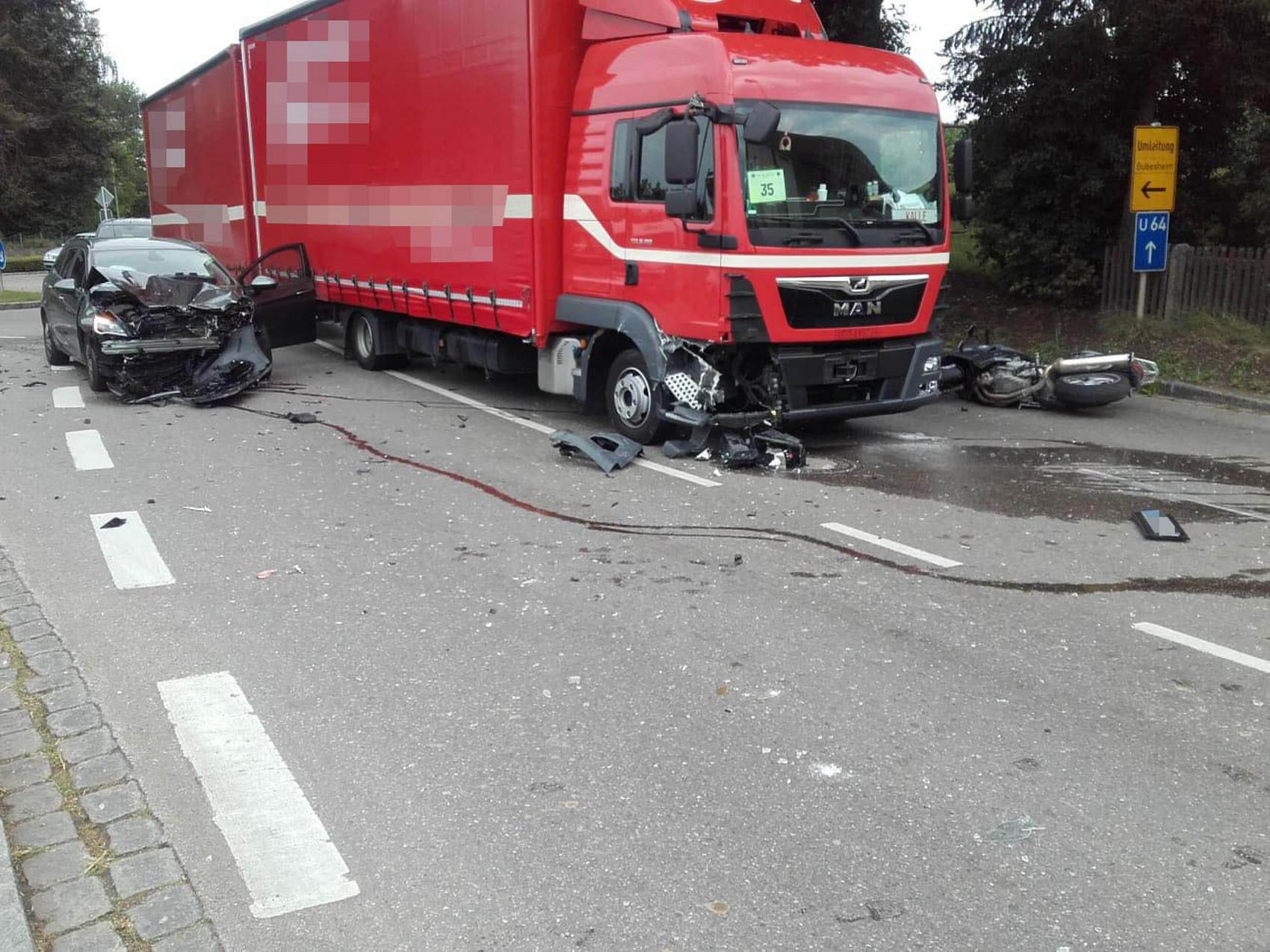 Unfall Kleinkoetz B16 14082020 2