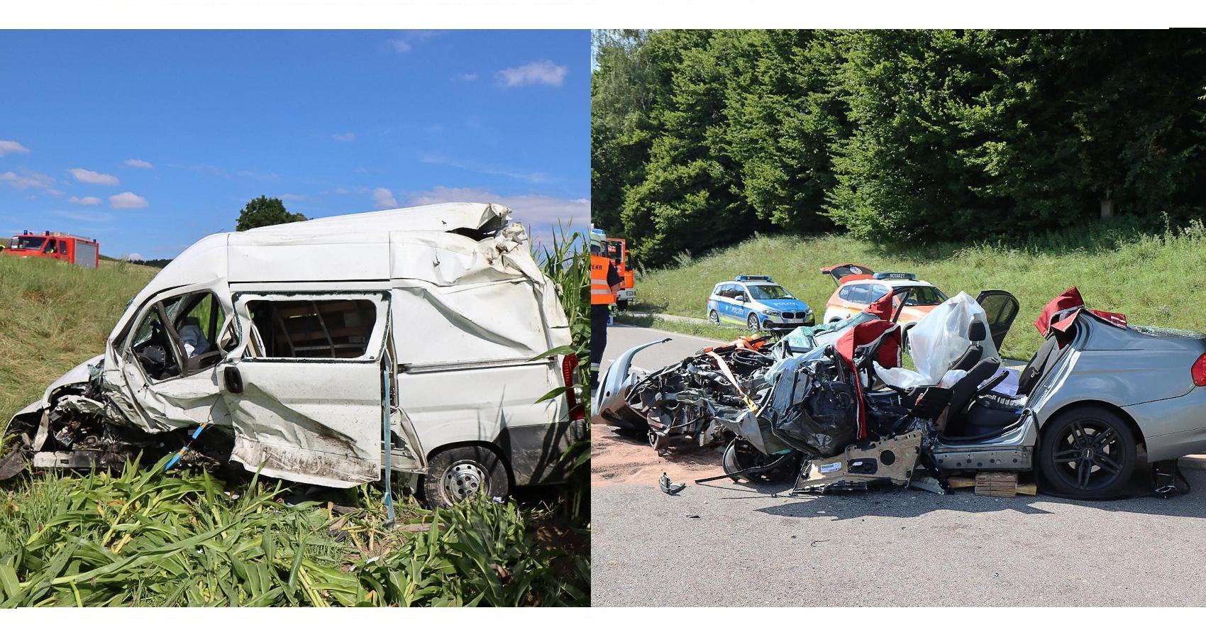 Unfall Zusmarshausen Horgau 06082020