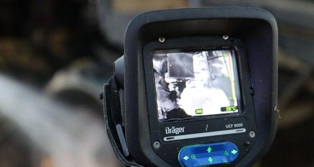 Waermebildkamera der Feuerwer