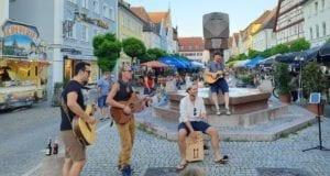 Zweiter Sommer Shopping Abend in Guenzburg