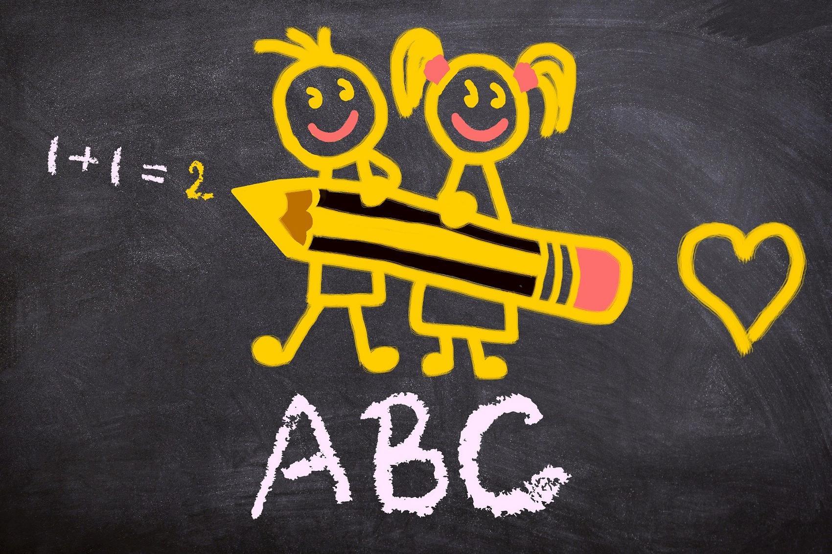 ABC-Schuetzen Schulkinder Kind Schule