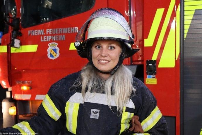 Andrea Klement Feuerwehr Leipheim