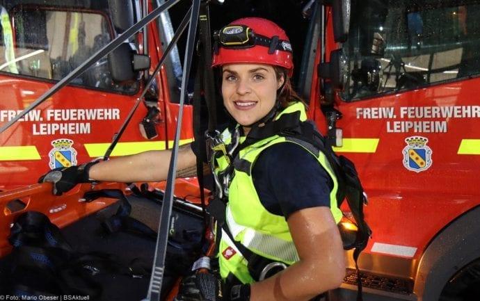 Anja Schmitz Feuerwehr Leipheim