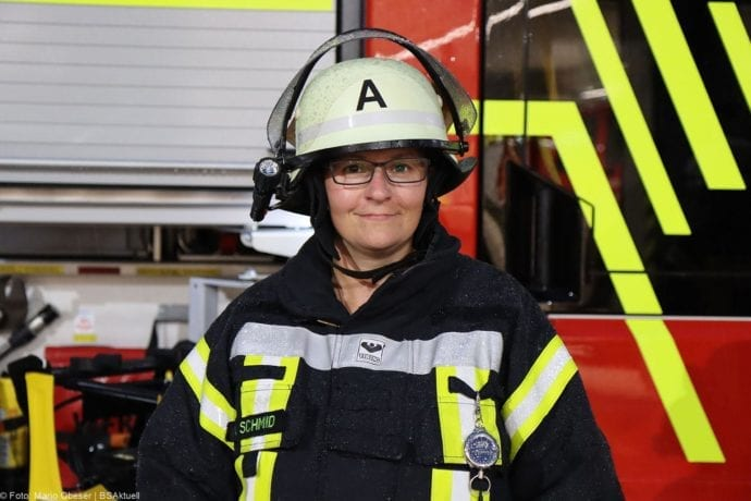 Anje Schmid Feuerwehr Leipheim