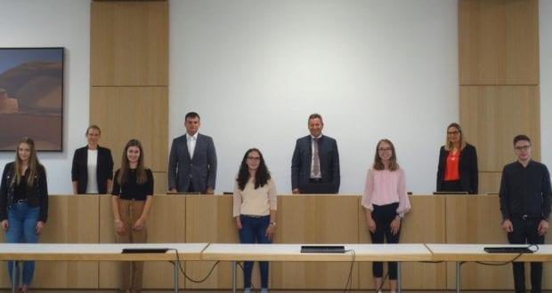 Ausbildungsstart im Landratsamt Dillingen 2020