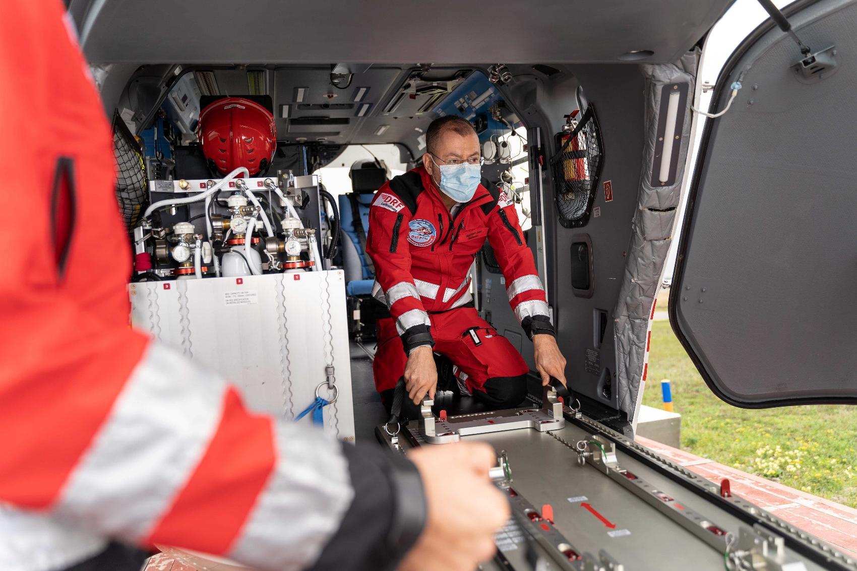 Grundplatte EpiShuttle Handling Platte DRF Luftrettung