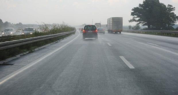 Regen Aquaplaning