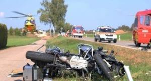 Unfall Motorrad Lkw Muensterhausen 21092020 23