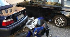 Unfall Roller Pkw Gundelfingen 07092020 4