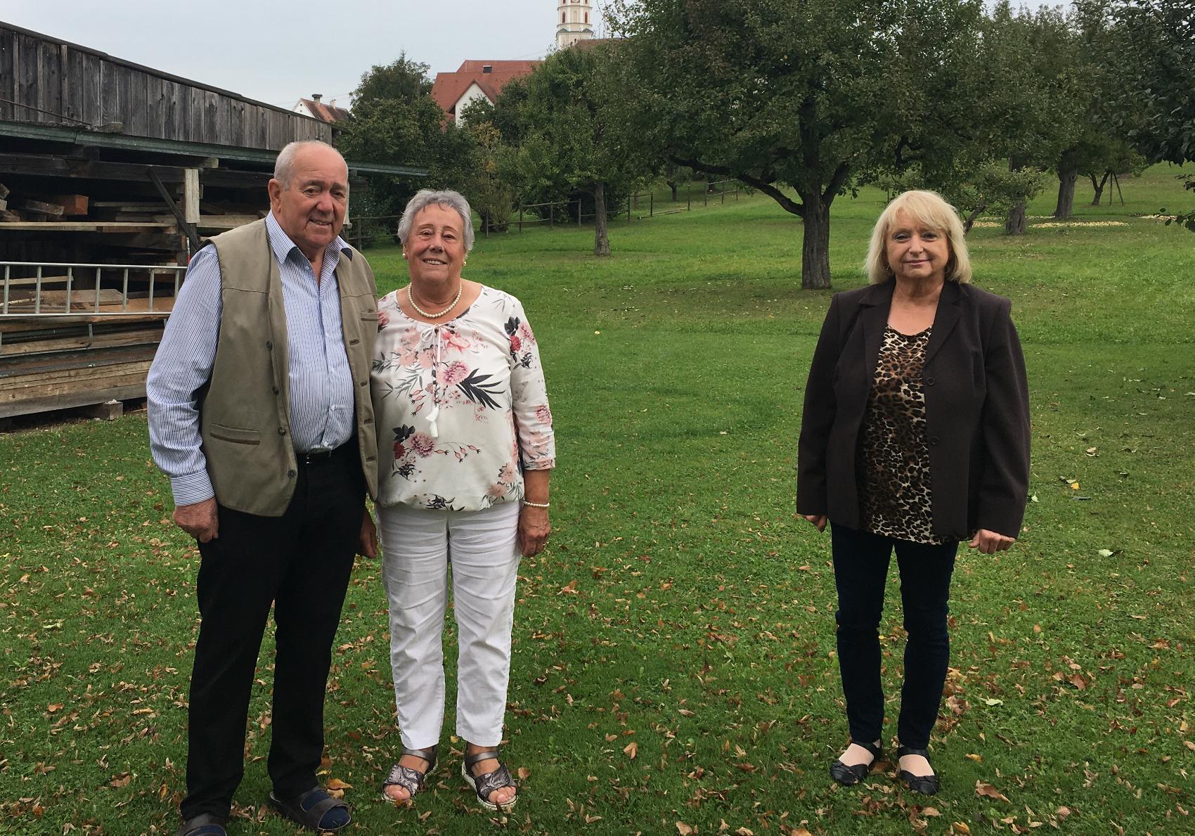 60 Hochzeitstag Ehepaar Kast Stadt Neu-Ulm
