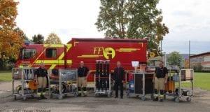 Feuerwehr Ichenhausen Rollcontainer