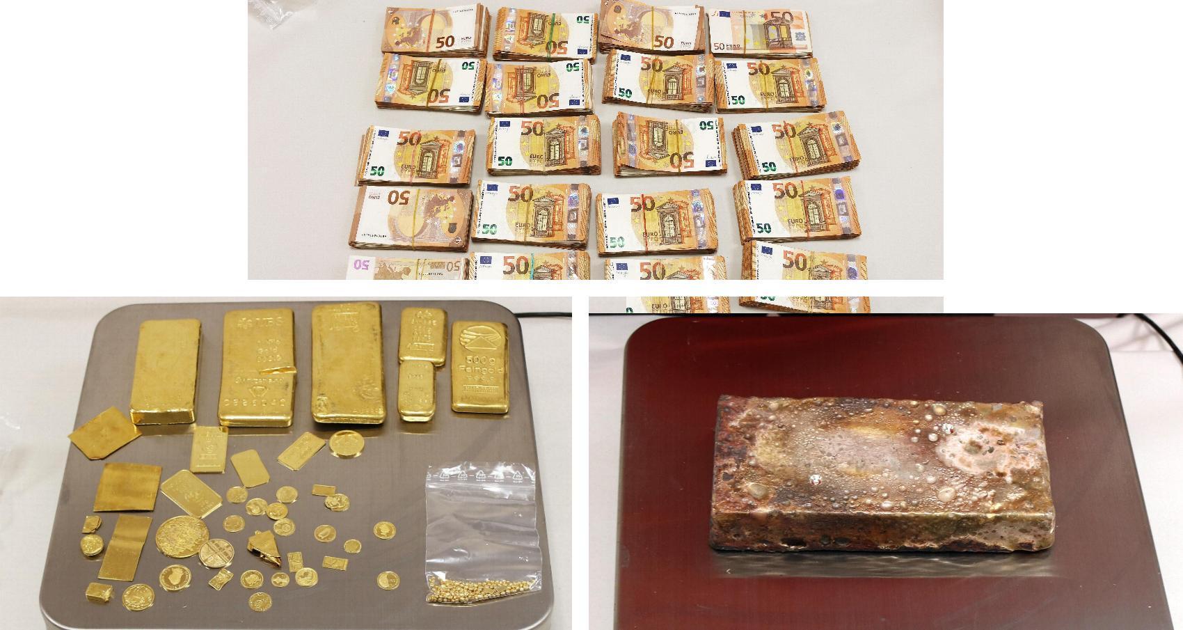 Grenzpolizei Pfronten Gold Silber Geld sichergestellt